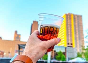 Open Refreshment Areas in Downtown Toledo, Ohio