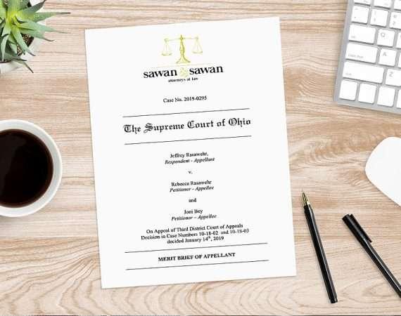 Sawan & Sawan files brief in Ohio Supreme Court Free Speech Case