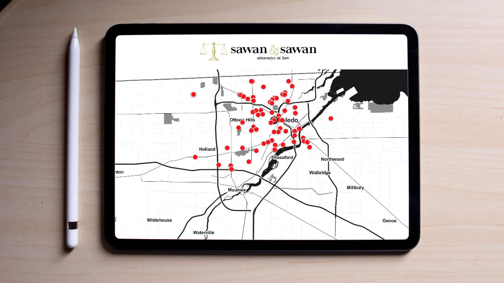 Car Accidents in Toledo, Ohio - 8/11/2019 | Toledo Car Accident Lawyers | Sawan & Sawan LLC | 1-866-INJURY-0
