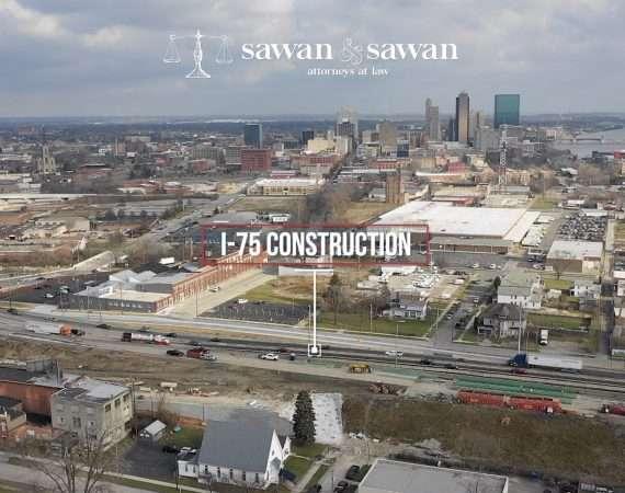 I-75 Construction in Toledo, Ohio